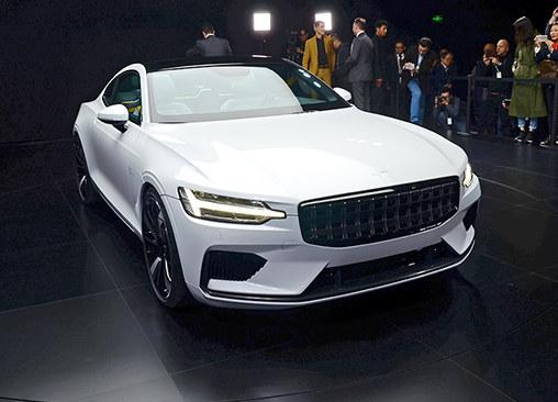 GT跑车/2019年量产 Polestar 1实拍解析