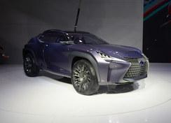 雷克萨斯UX新概念SUV实拍