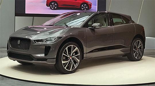 2018日内瓦车展实拍 捷豹I-PACE电动SUV